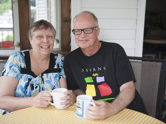He's up with the roosters to hit the tennis courts, she likes to leave her PJs on and stay in bed with a good book. Haddonfield residents Deb and John Duffy make it work, even when they have to challenge their natural rhythms to accommodate the day.