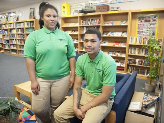 Charles Brimm Medical Arts High School seniors Moses Le and Alexis Horsey both have plans after graduation. Le is heading to Stockton and Horsey is enlisting in the military.