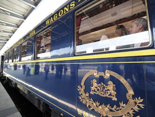 FRANCE-TRANSPORT-RAIL-LITERATURE-ORIENT-EXPRESS