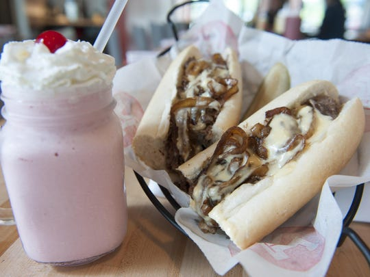 Rockhill's menu revolved around cheesesteaks, shakes