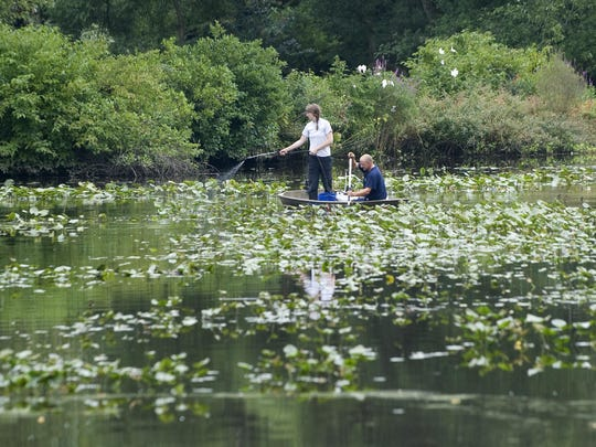 Sherwin-Williams Co. and Camden County have agreed in principle to work together to dredge Kirkwood Lake.