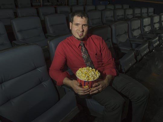 Copper Creek Theatre in Pleasant Hill has been making some renovations and improvements to the theater, lobby and screening rooms. Mike Stevens is the general manager.