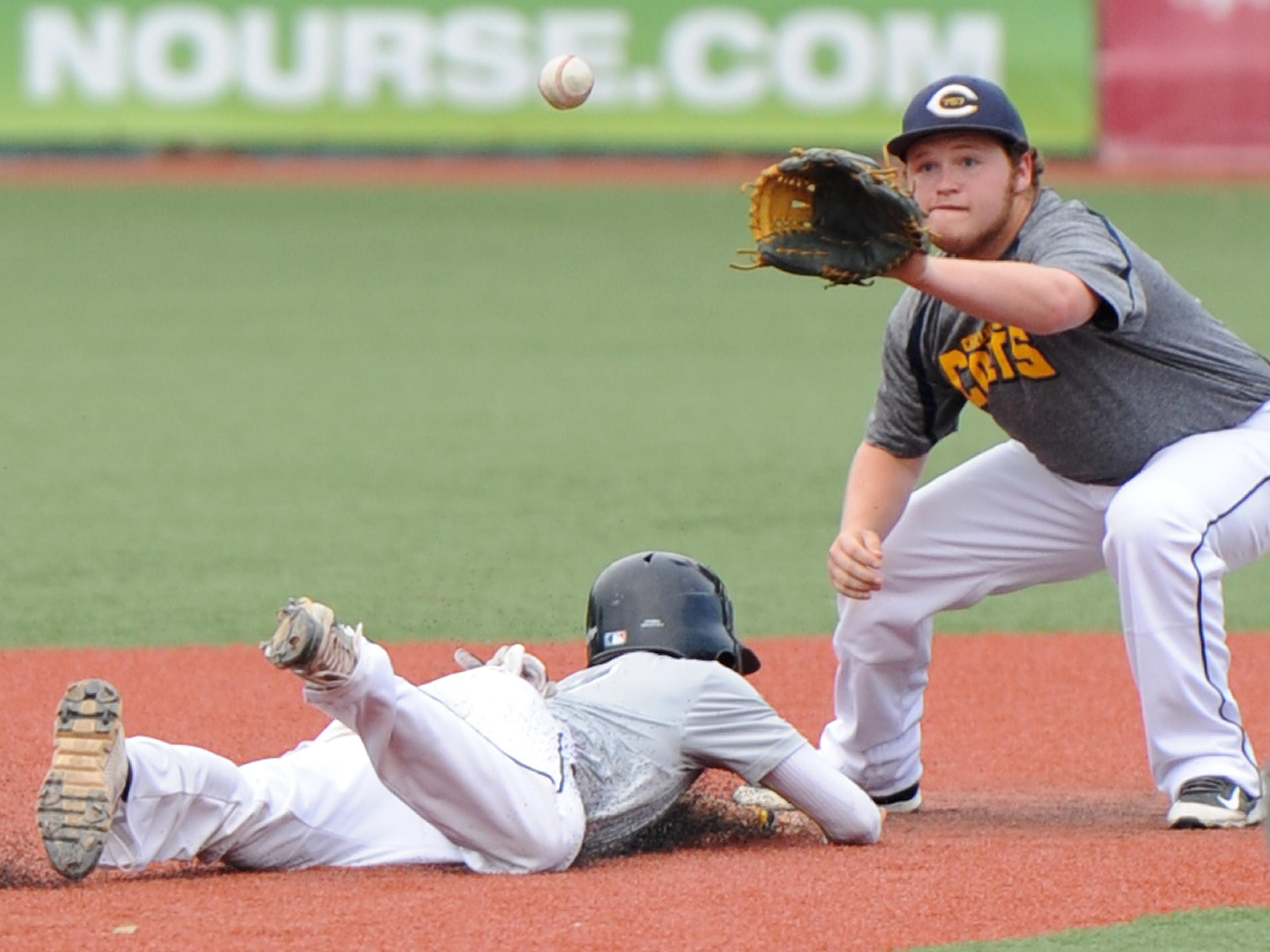 Chillicothe Post 757 played against the Chillicothe Capitals at V.A. Memorial Stadium on Friday.