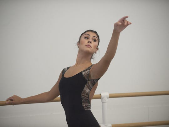 Sara Schaeffer of Mullica Hill says her time with the School of the Pennsylvania Ballet is about 'finding the combination of the proper technique and expression.'