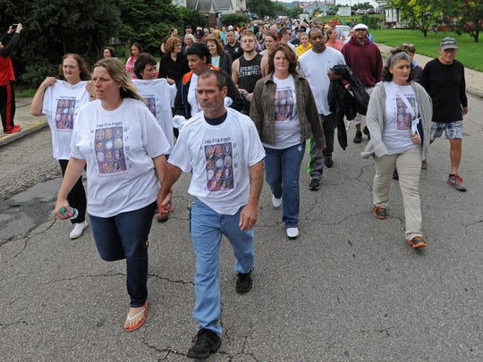 In late June, law enforcement, political officials, and Chillicothe residents marched from the Ross County Courthouse to the corner of Bridge and Second streets in an effort to bring the everyone together to fight against addiction and crime. The march was precipitated by six high-profile cases from the past year of women who went missing; four of whom were found dead and two who remain missing.