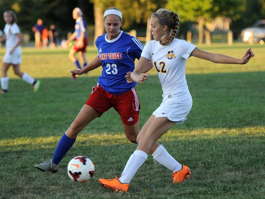 Unioto's Elayna Gunnoe formally declared her intent to attend West Liberty University and compete in the women's soccer and track and field programs on Tuesday.