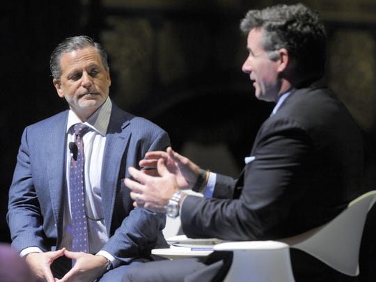 Dan Gilbert speaks with Under Armour CEO and founder Kevin Plank.