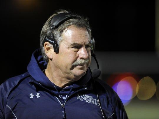 Longtime O'Gorman football coach Steve Kueter is part of the 2018 class of the South Dakota Sports Hall of Fame.