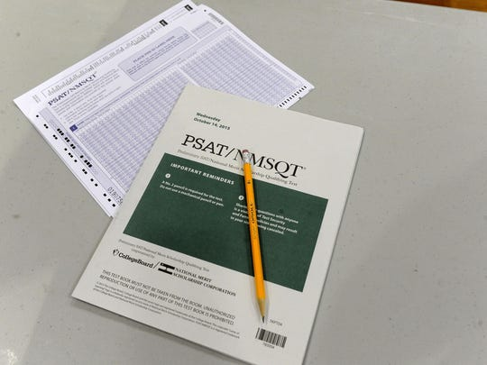 More than 140,000 Michigan students in grades 8-11 were to take the PSAT, a preliminary version of the SAT, last week.