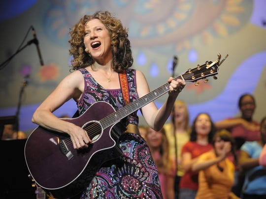 The Laurie Berkner Band entertains the little ones at Tarrytown Music Hall on Dec. 19.