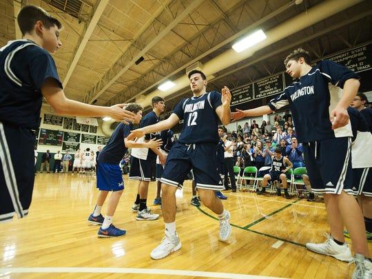 Burlington vs. Rice Boys Basketball 01/07/16