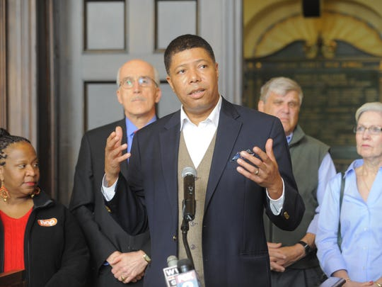 Democratic activist and public relations professional Greg Bowens is running for Michigan Democratic Party chair.