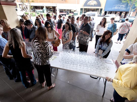 More than 700 turned out for the Downtown Visalia Wine