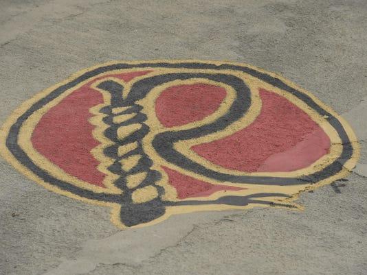 rawhide logo paint
