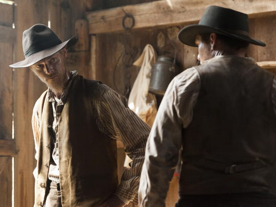 """David H. Stevens as Jesse James in """"The American West."""""""