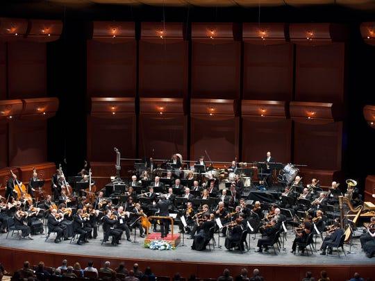 The New Jersey Symphony Orchestra.