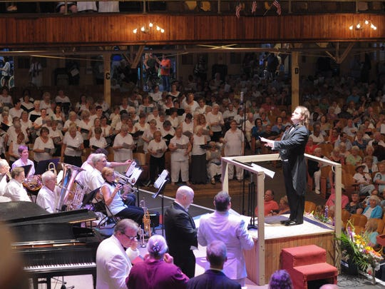 About 1,000 choristers are expected to attend this year's festival.