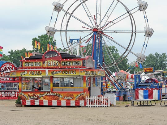 Amusements of America, which has been with the festival for more than 50 years, will provide rides and games all week long.
