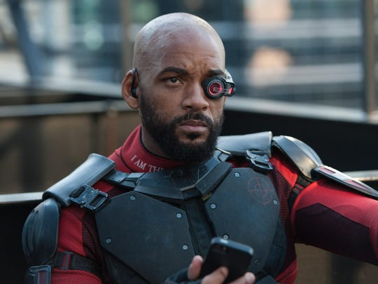 """Will Smith in """"Suicide Squad."""""""