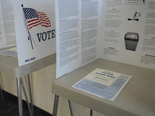 Residents have until Oct. 24 to register to vote.