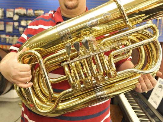 Merry TubaChristmas returns with familiar holiday tunes.