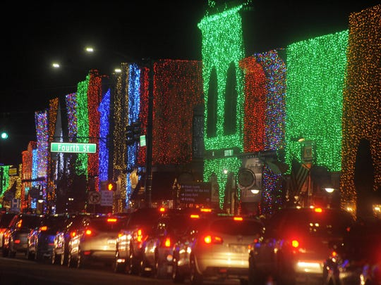 More than 1 million bulbs illumniate Rochester's light