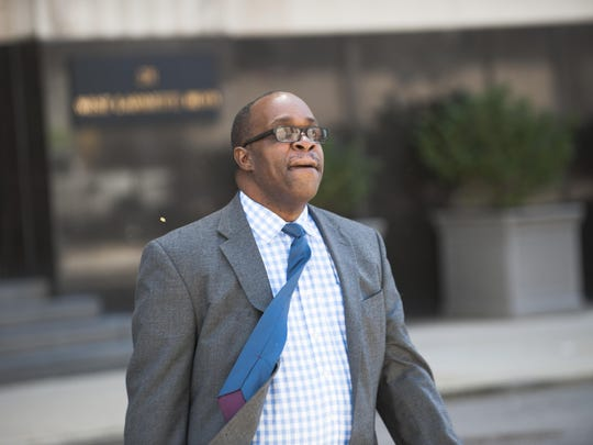 Jerome Durden, 61, of Rochester stood mute in federal court on charges of conspiracy to defraud the U.S., which carries up to five years in prison and/or a $250,000 fine.