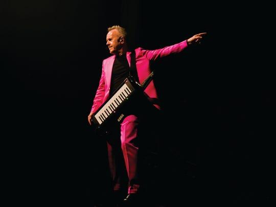Howard Jones performs March 4 at the Hangar Theatre in Ithaca.