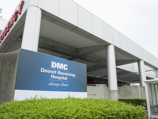 Detroit Receiving hospital.