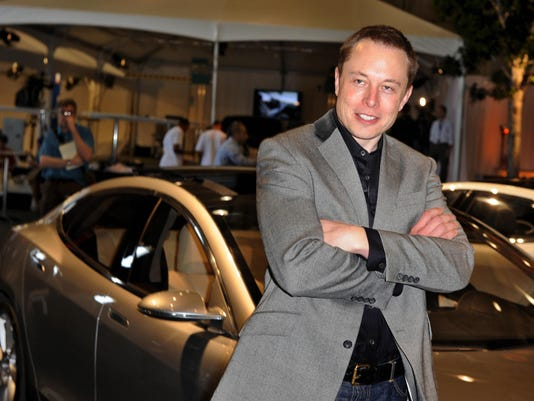 Tesla Motors Chairman and CEO Elon Musk