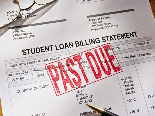 Past Due Student Loan Paperwork