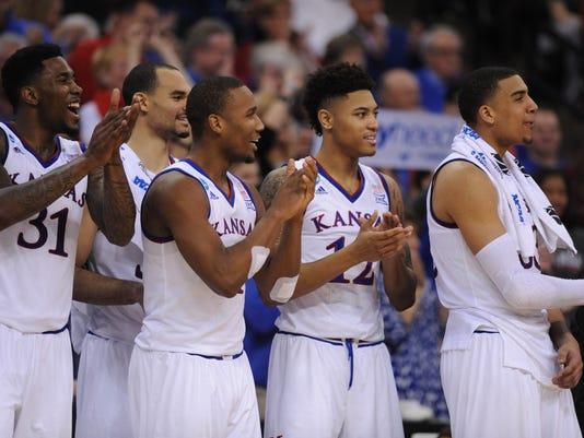 NCAA Basketball: NCAA Tournament-2nd Round-Kansas vs New Mexico State