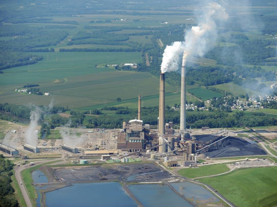 AEP's Conesville Plant in Coshocton County is one of four plants included in a proposal before PUCO. The plant employs about 260 people plus 150 contractors, bringing in $18.5 million in combined income to the rural county, according to a letter from its commissioners.