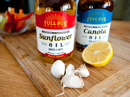 Netaka White of Salisbury recently built an edible oil company, Full Sun, producing canola and sunflower oil pressed from New England and New York-grown seeds.