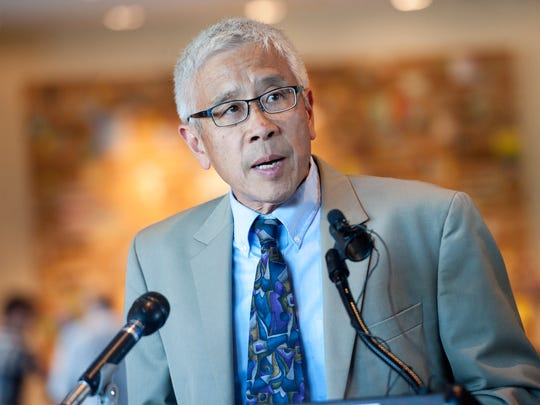 Dr. Harry Chen, Commissioner of the Vermont Department of Health, will become Vermont's interim Secretary of Human Services, Gov. Peter Shumlin announced Tuesday.