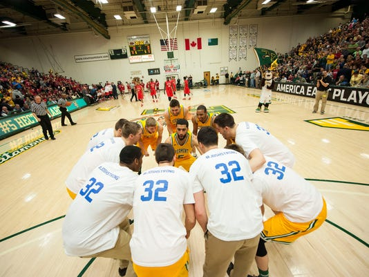 Stony Brook vs. Vermont Men's Basketball 03/08/15