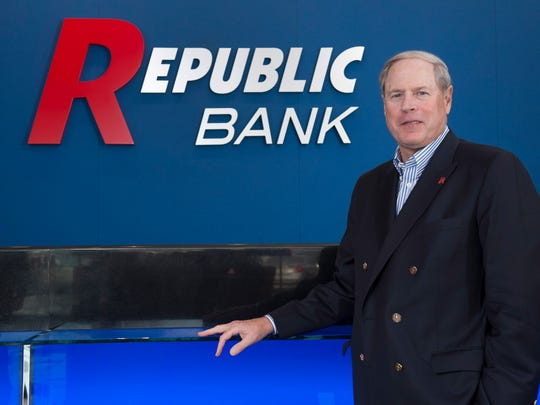 Vernon Hill, founder of Commerce Bank, who was ousted by TD Bank is now back in Cherry Hill working for Republic Bank. Tuesday, March 11, 2014.