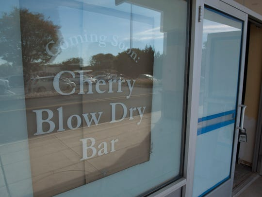 Cherry Blow Dry Bar in Cherry Hill for Storefront. Thursday, October 9, 2014.