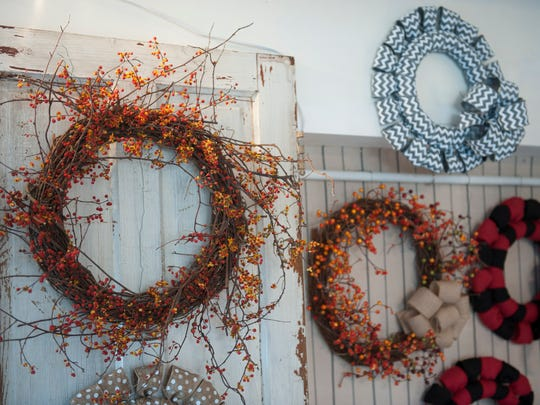 Sprig Wreath & Trim in Haddonfield. For storefront. Tuesday, November 18, 2014.