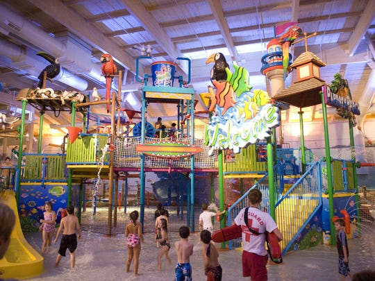 Splash around regardless of the weather at Coco Keys Water Resort in Mount Laurel.