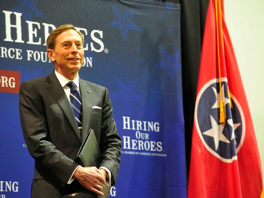 Retired U.S. Army Gen. David Petraeus is opening up about his experience being shot while in battalion command at Fort Campbell back in 1991.