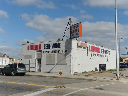 Stadium Liquor, 2450 Cass, is another holdout in the arena district. The owners and their attorney declined to comment.
