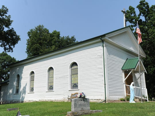 Built in 1858, St. Mary's Church in the town of Springvale will hold its last service the end of this month.