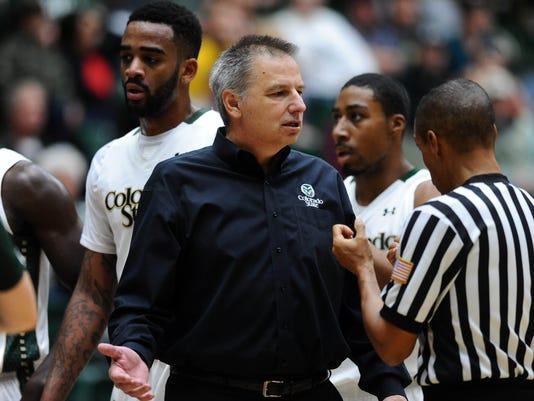 NCAA Basketball: Montana at Colorado State