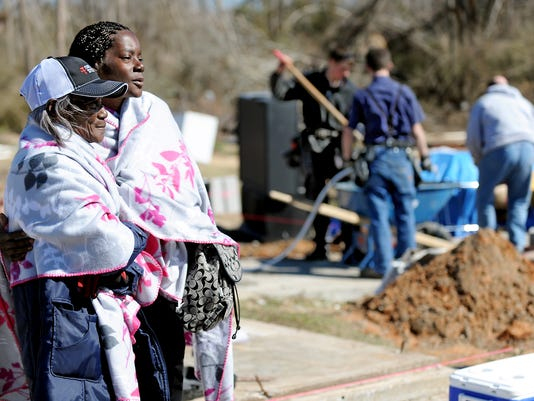 Home Reconstruction Begins For Tornado Victims In Columbia