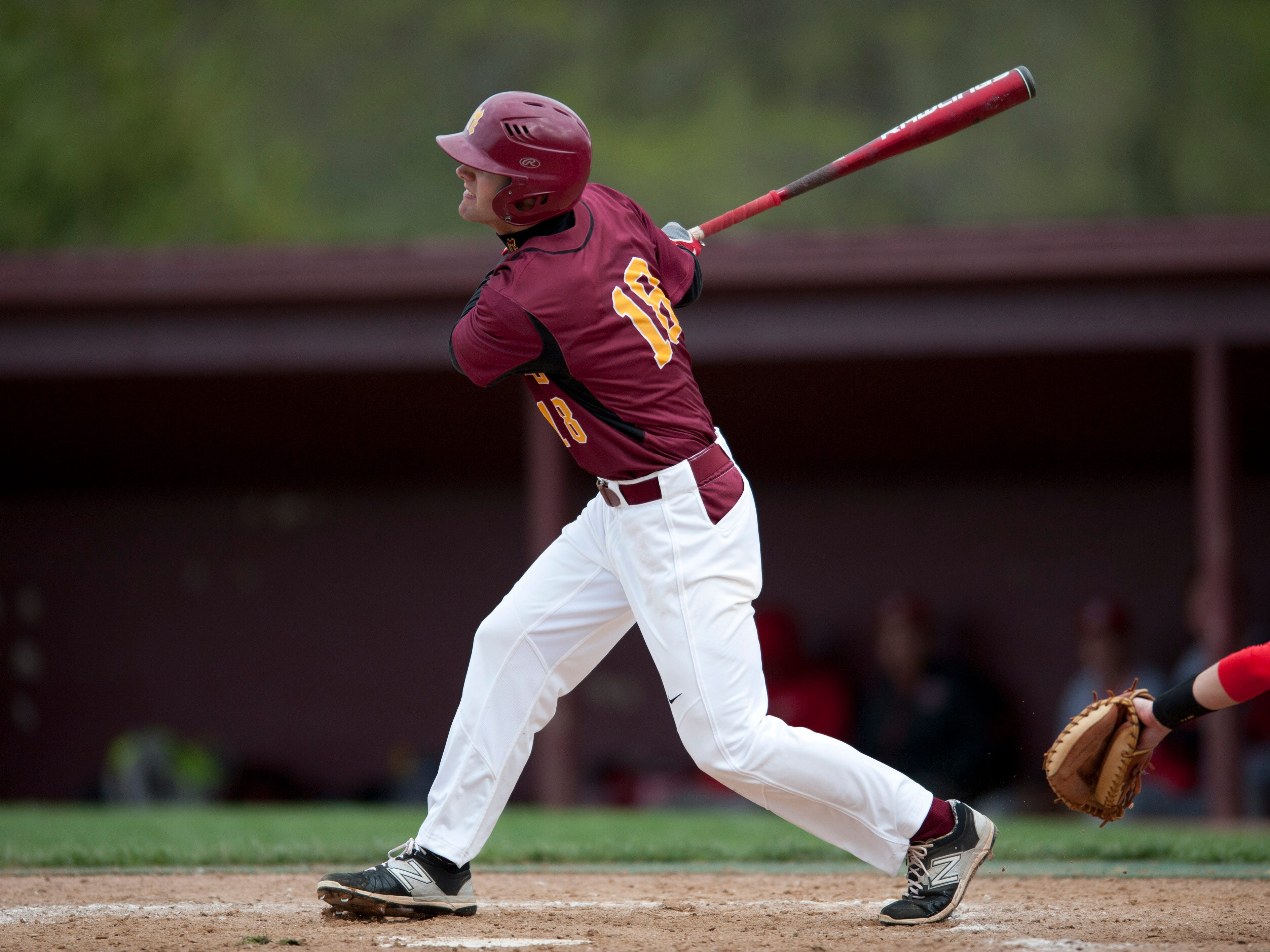 Braden Giroux went 4-for-4 and drove in five runs against West Lafayette on Monday.