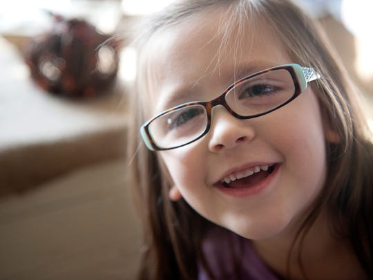 Remington Hedrick, 5, was diagnosed with Nystagmus,