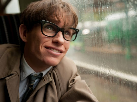 This image released by Focus Features shows Eddie Redmayne