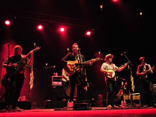 Old Crow Medicine Show performs at the Woods Amphitheater