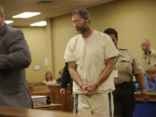 Richard Parker has pleaded not guilty in the deaths of Jon Setzer, 74, and Marion Setzer, 72, who police say were killed by a package that exploded at their house in February.